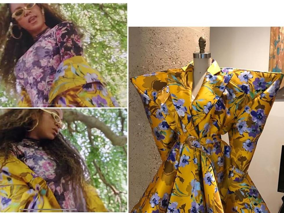 Beyonce Levenity jacket, Venny Etienne