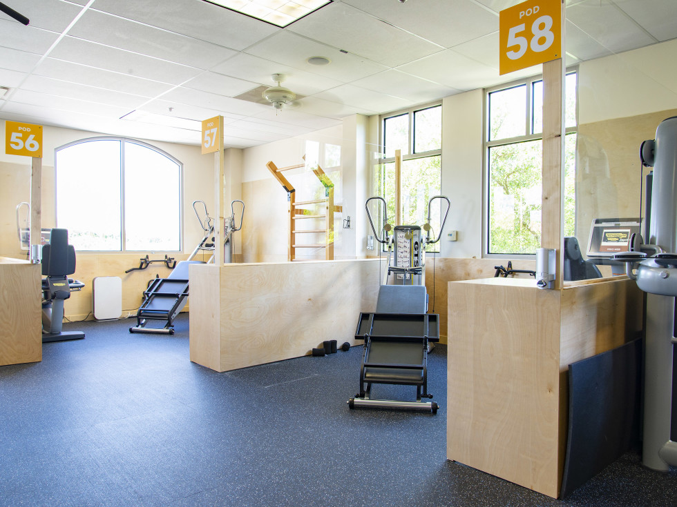 CHF workout pods