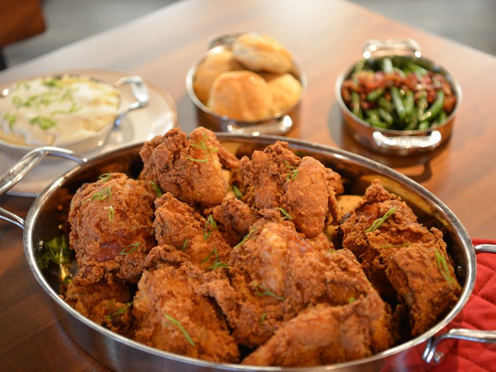 Killen's restaurant fried chicken plate