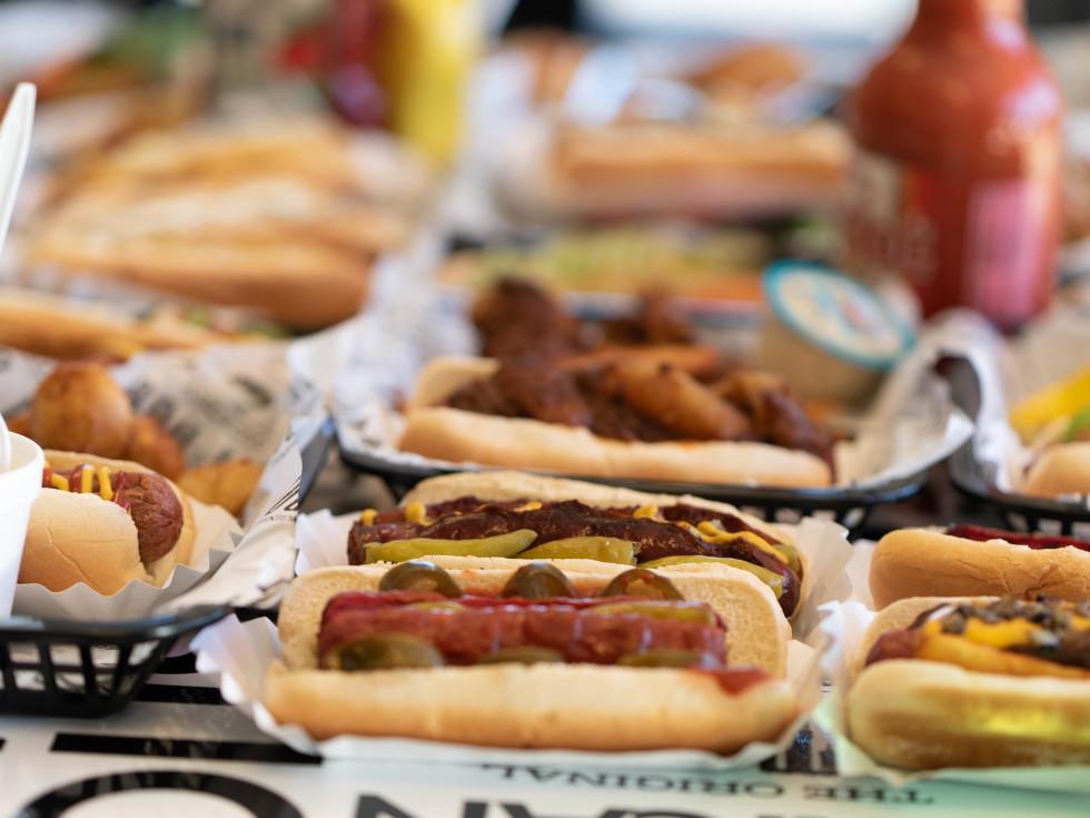 Original Hot Dog Factory spread