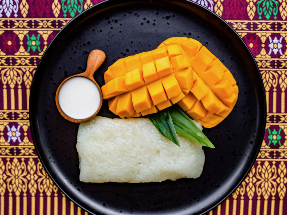 Street to Kitchen mango sticky rice