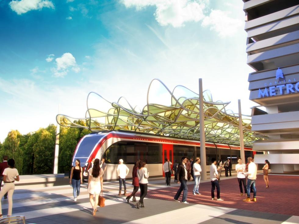 CapMetro train capital metro broadmoor