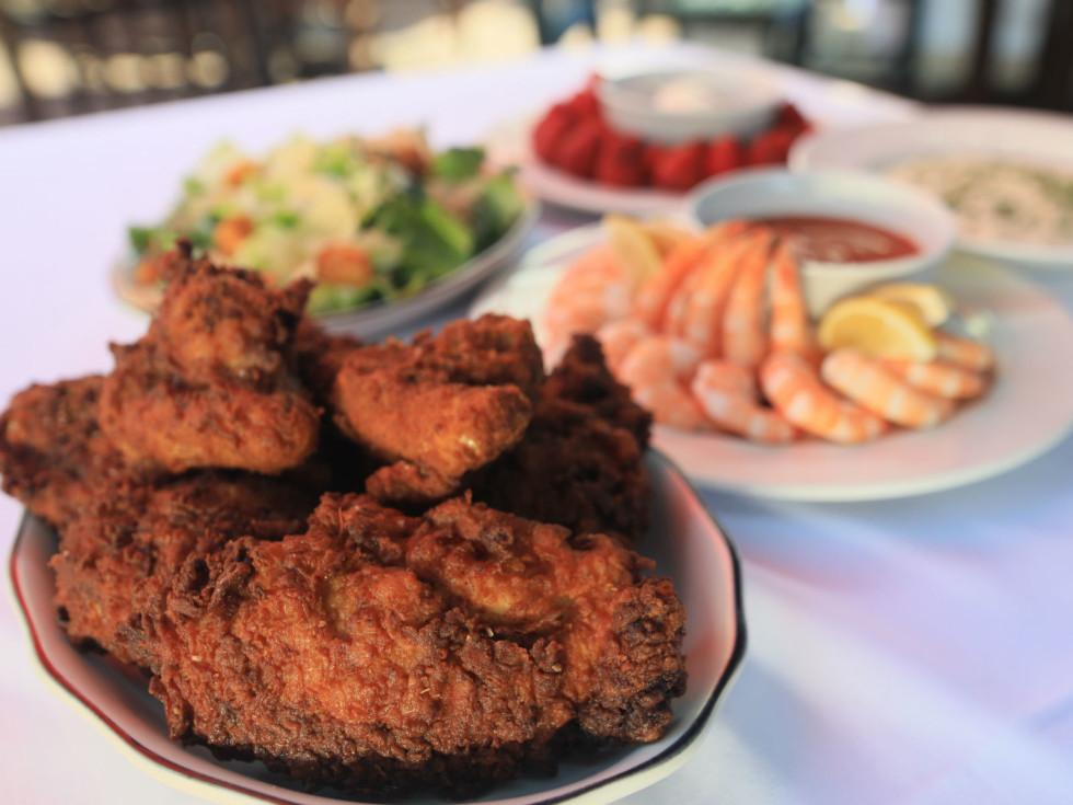 Lawry's fried chicken