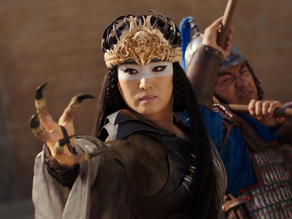 Gong Li in Mulan