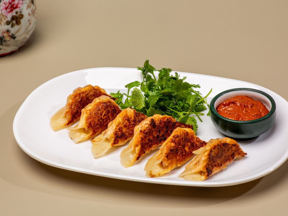 Best Quality Daughter chorizo eggs potstickers