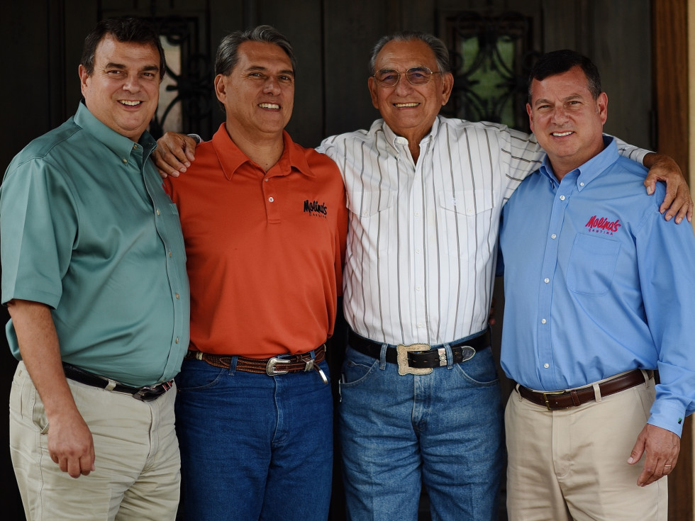 Molina's Fulshear Ricardo, Raul III, Raul Jr and Roberto
