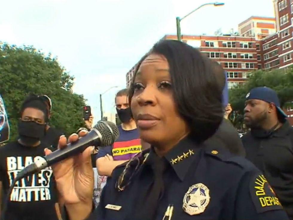 U. Renee Hall Dallas police chief
