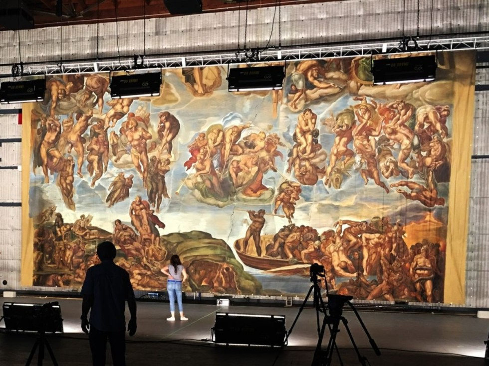 """McNay Art Museum presents """"Hollywood's Sistine Chapel: Sacred Sets for Stage & Screen"""""""