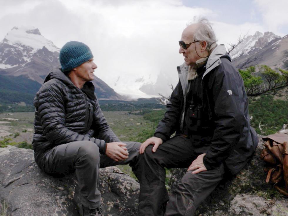 Alberto Castillo and Werner Herzog in Nomad