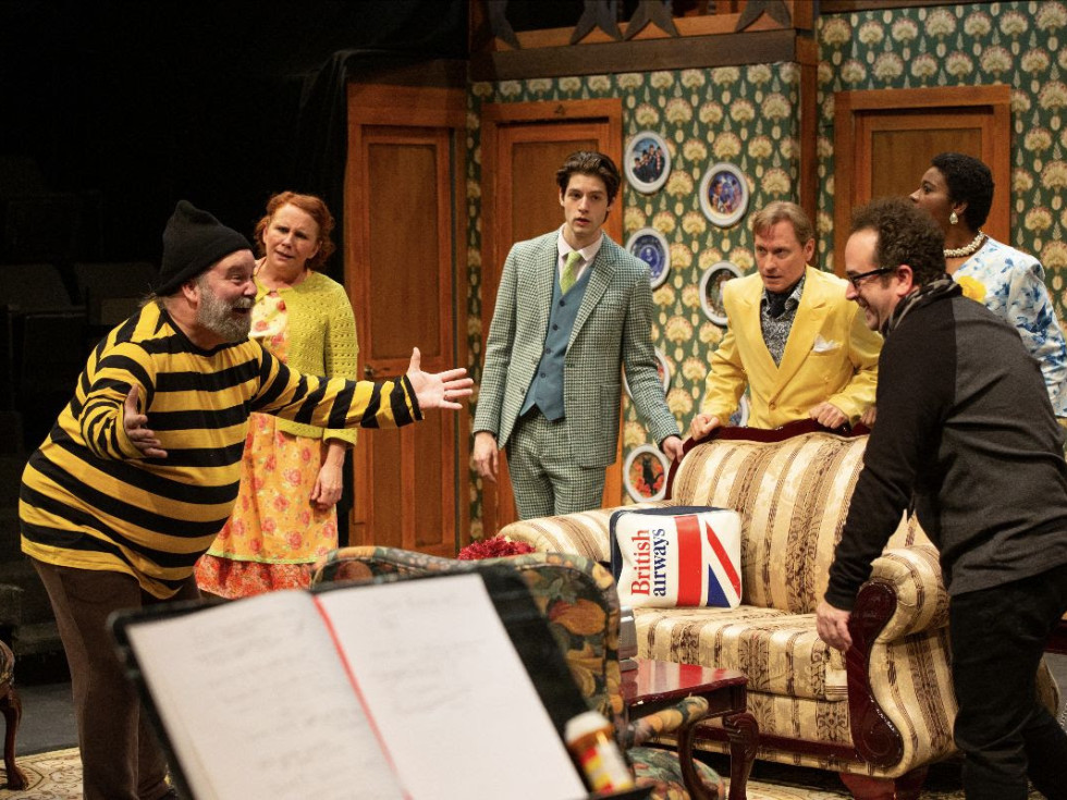 Noises Off at Theatre Three