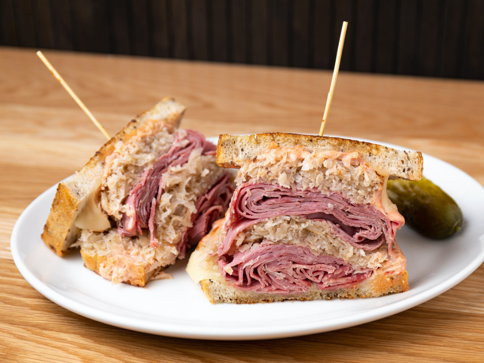 Katz's Reuben sandwich