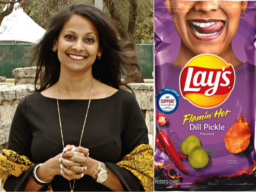 Mona Patel Lay's potato chips