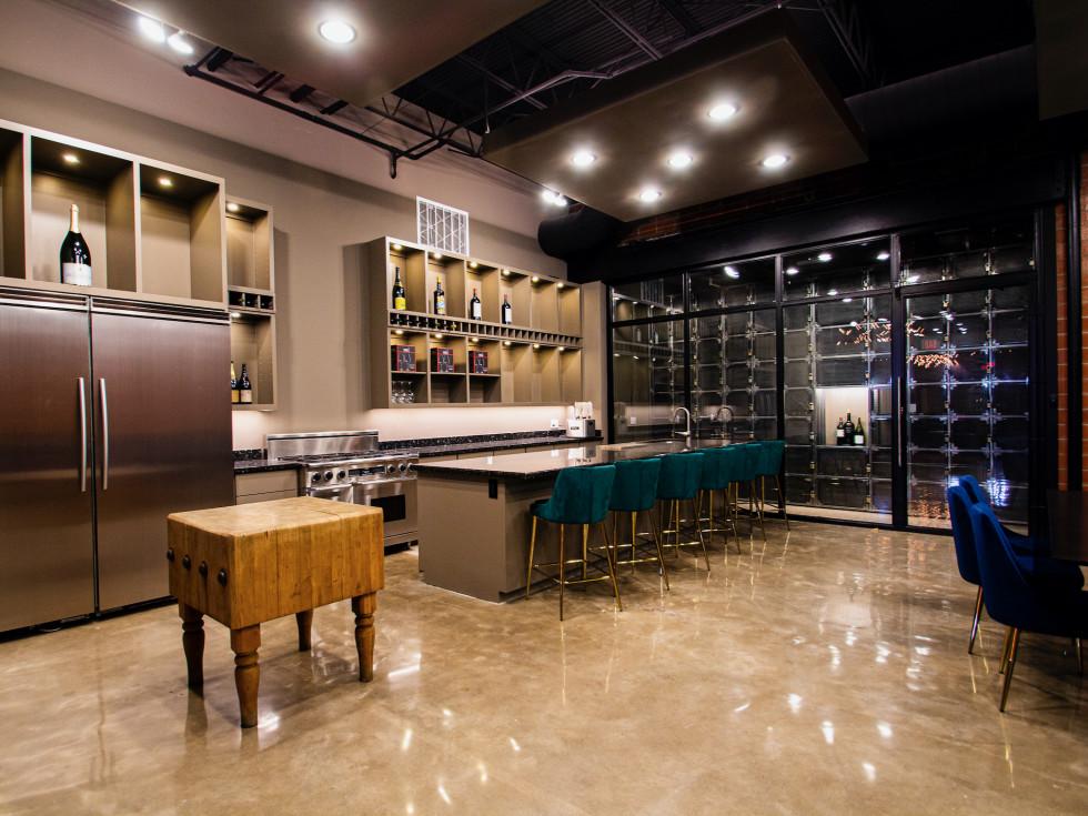 Vault & Vino tasting room