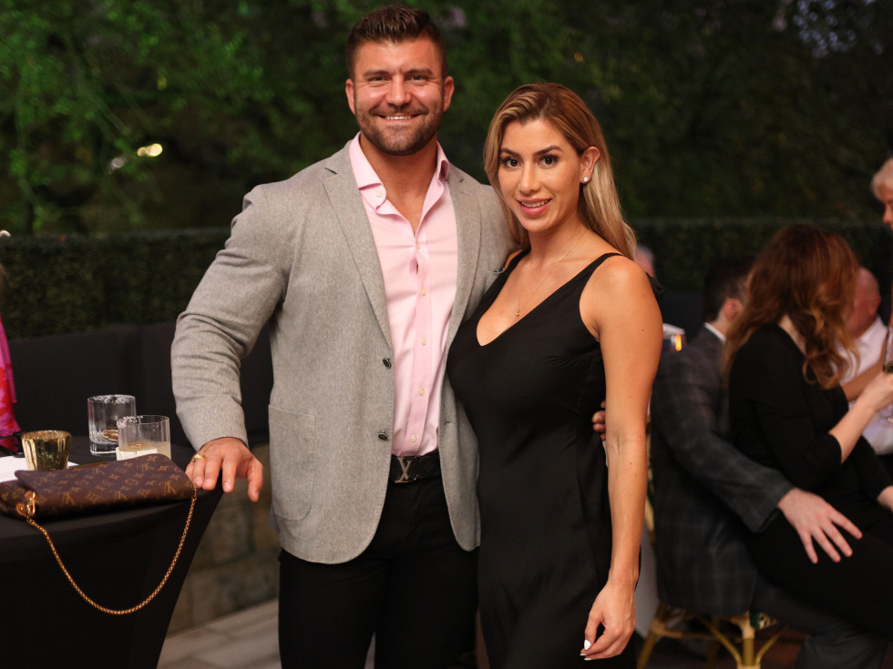Houston PetSet Fierce Fabulous Soiree 2020 Dr. Clay Ardoin and July Buitrago