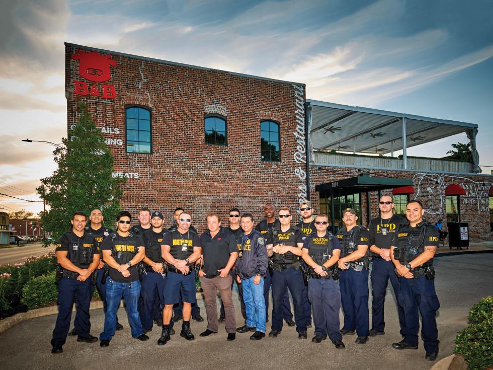 B&B Butchers first responder promotion