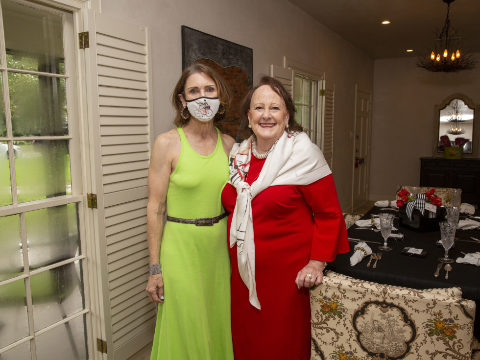 Salvation Army luncheon 2020 Chic Boutique Mary Maxey, Deborah Dunkum Chairman of the Luncheon