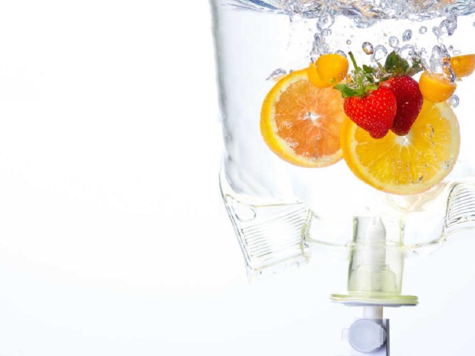 Regen IV Wellness, IV bag with fruit