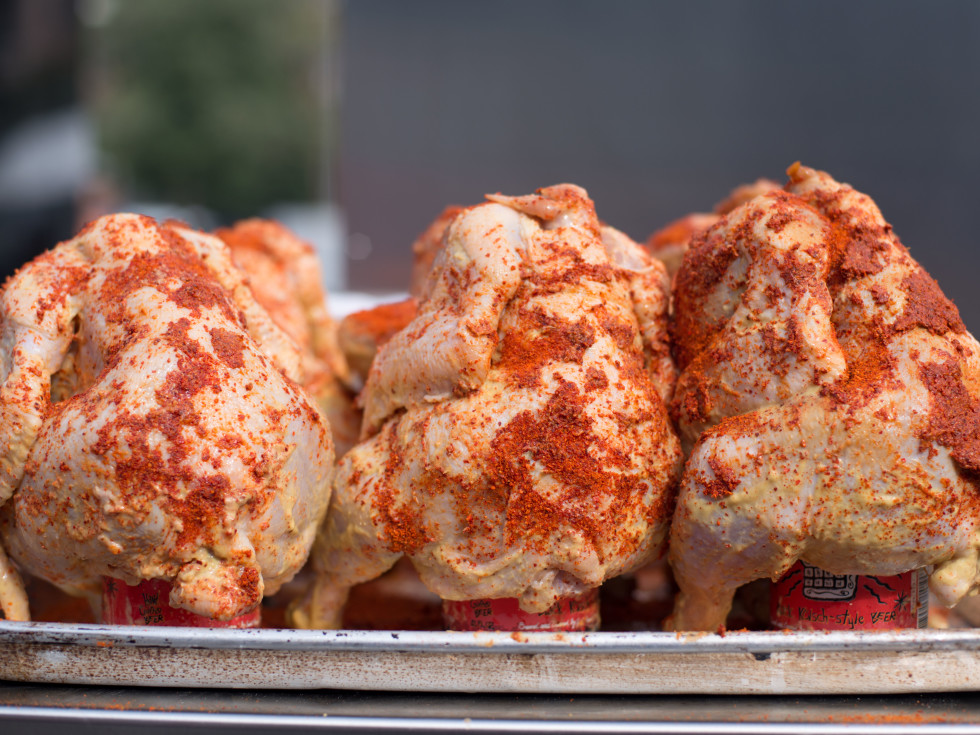 Underbelly Hospitality Southern Smoke beer can chicken