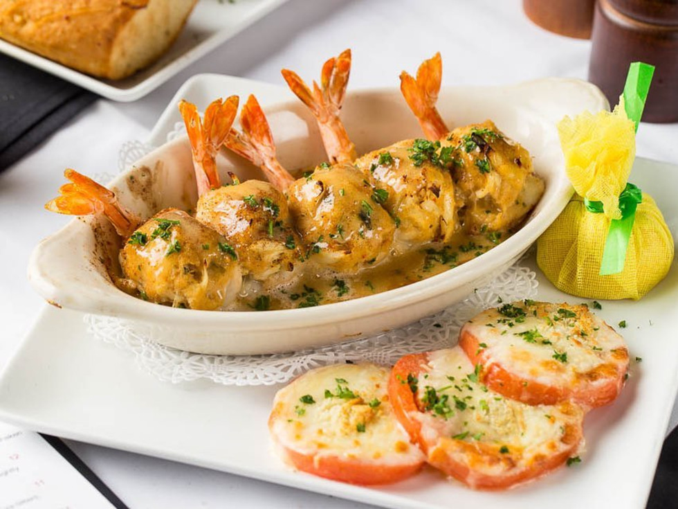 Gaido's shrimp dish stuffed shrimp