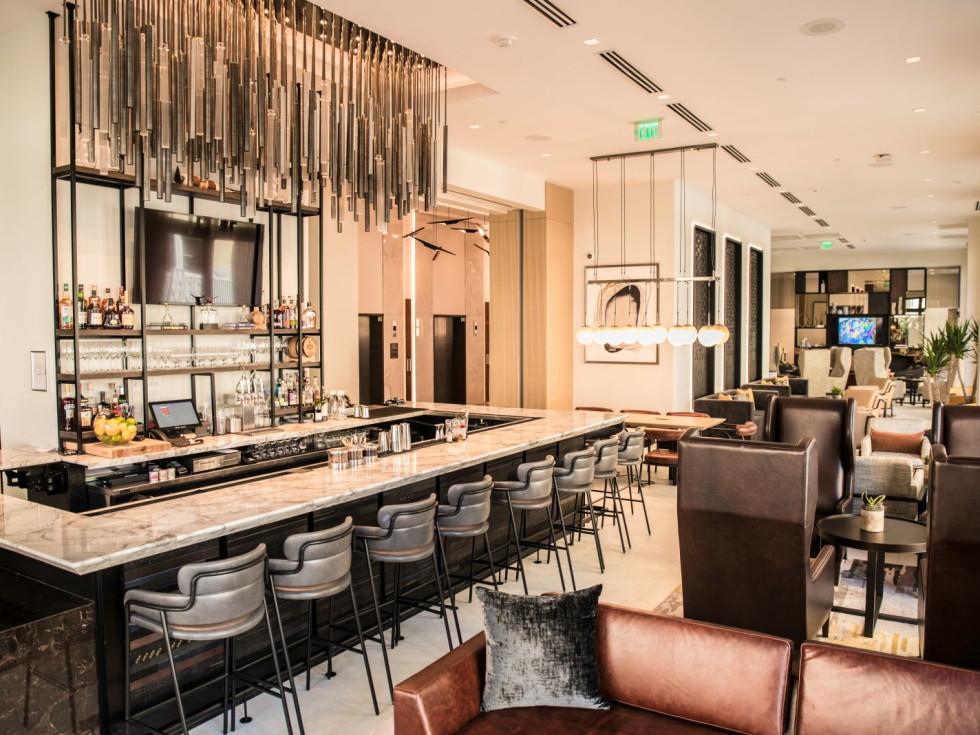 AC Marriott Hotel Fort Worth bar lounge