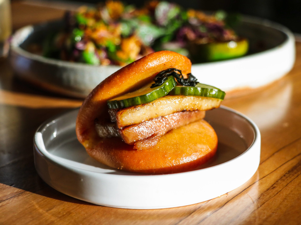 Xin Chao pork belly bun