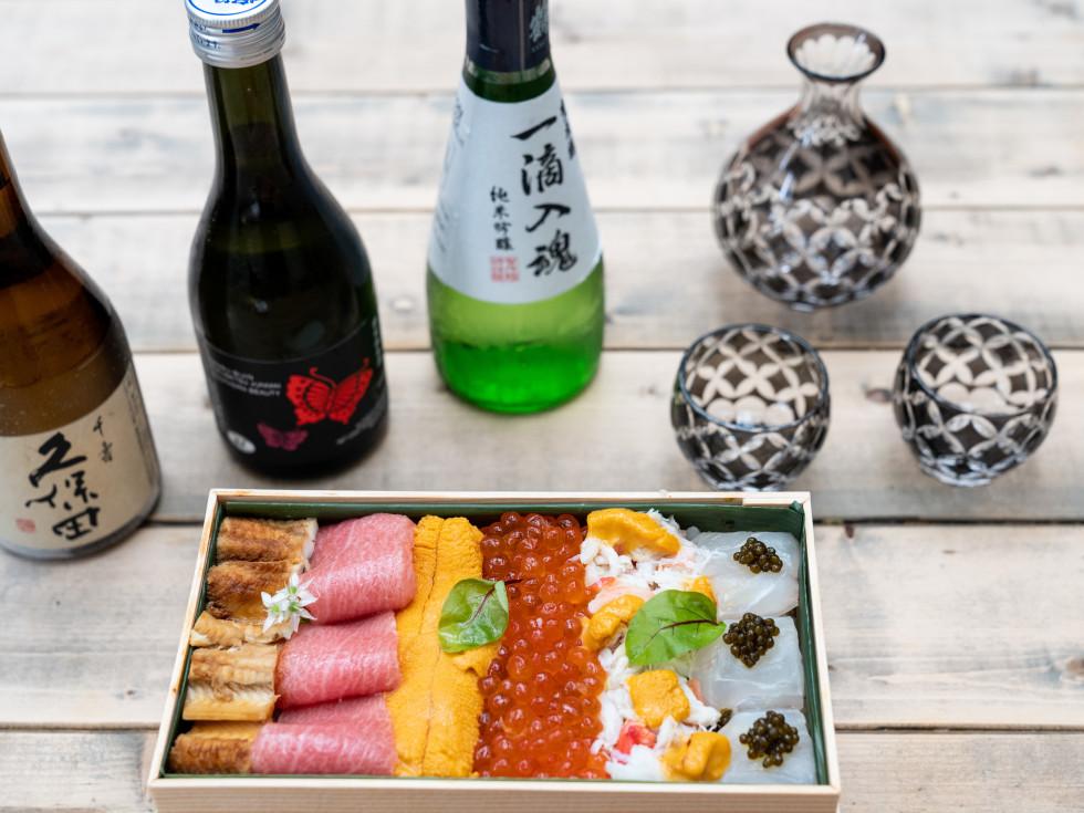 Kata Robata sake day chirashi bowl