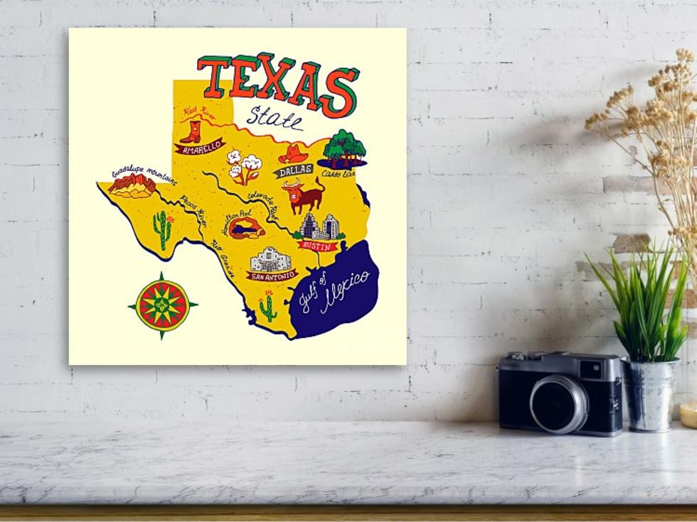 Fine Art America Texas print
