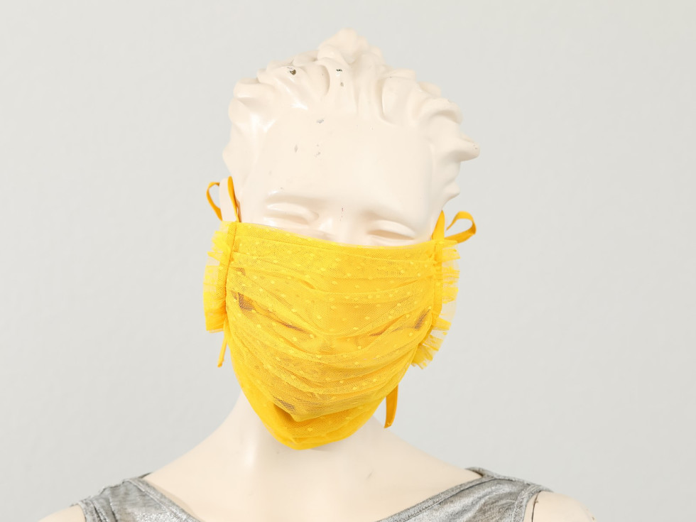 Lela Rose mask, Fashion Meets Masks