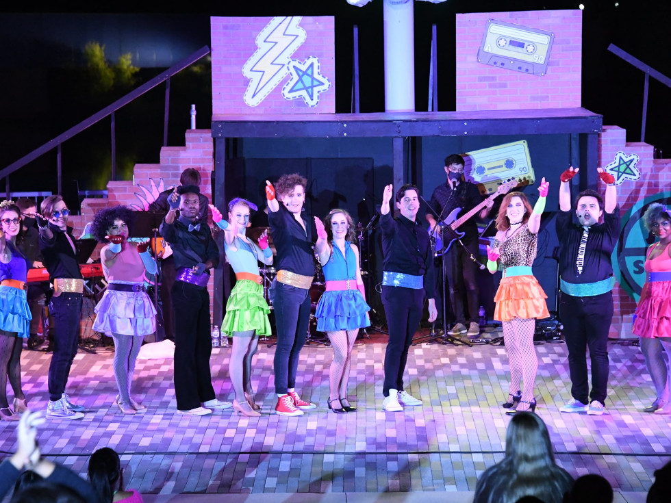 Firehouse Theatre presents Back to the '80s