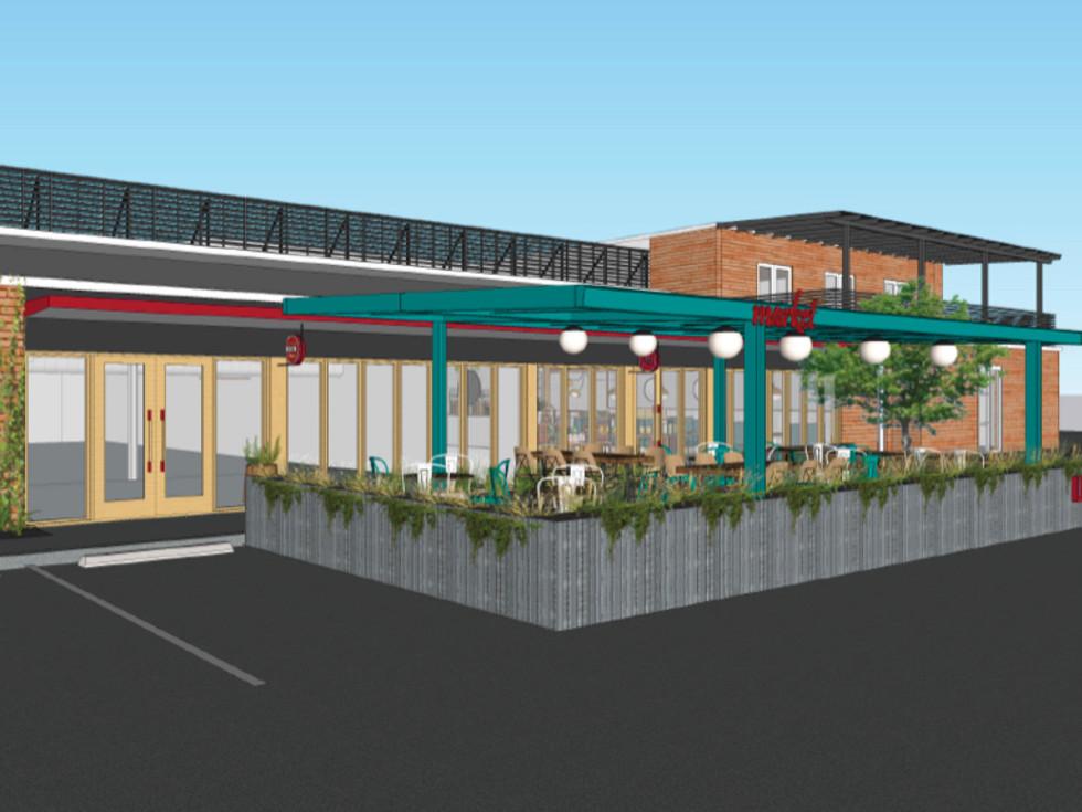 Local Foods Market rendering