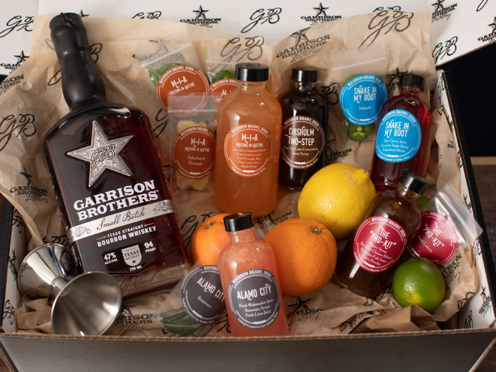 Bourbon Brawl drink kit
