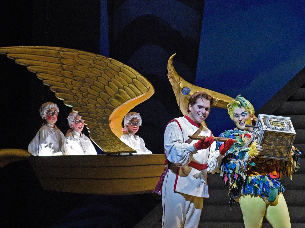 The Magic Flute at Dallas Opera