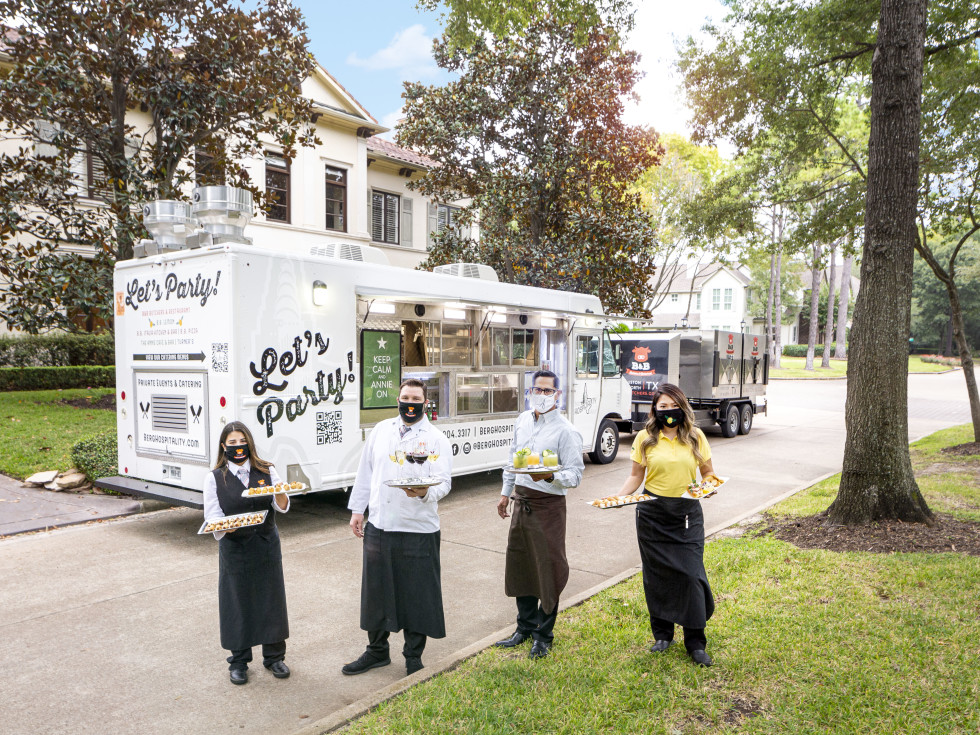 Berg Hospitality food truck catering