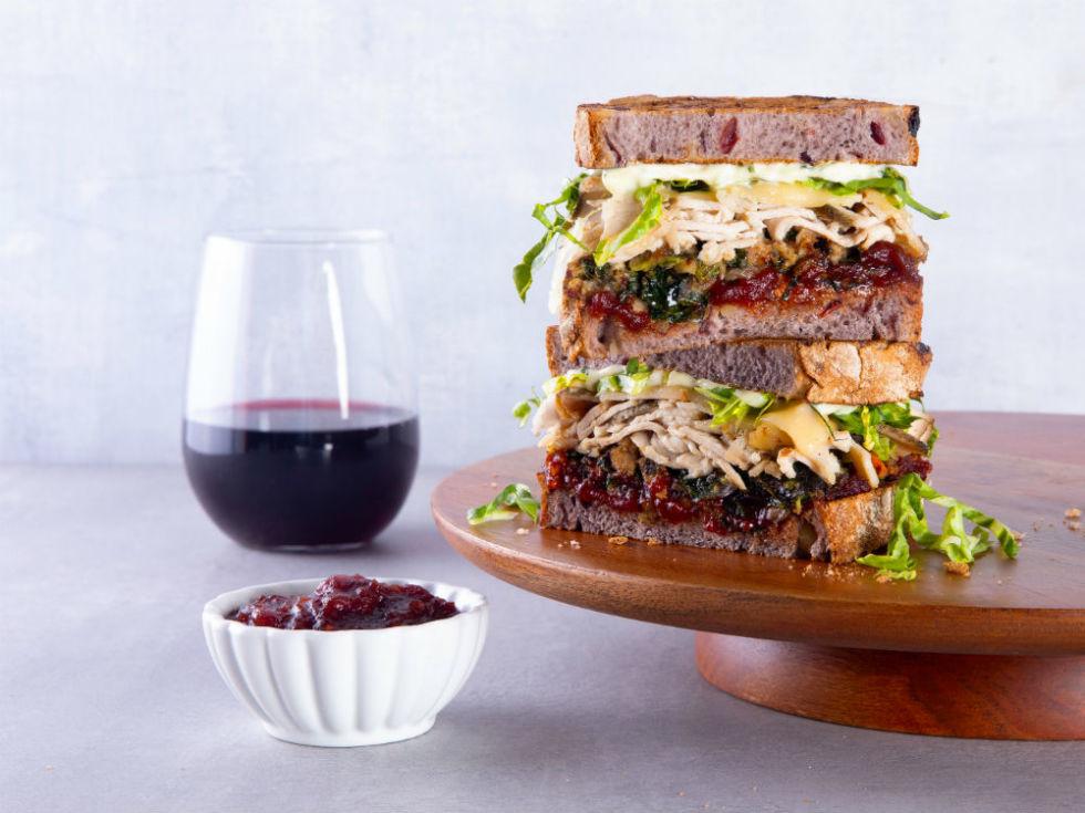 Mendocino Farms turkey sandwich