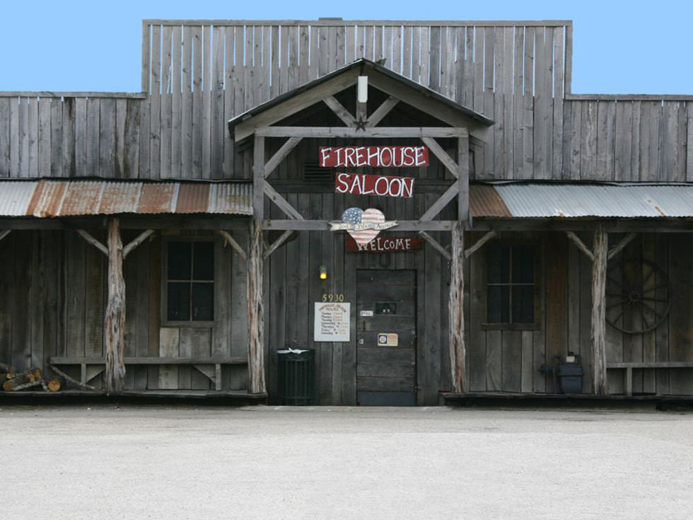 Firehouse Saloon exterior