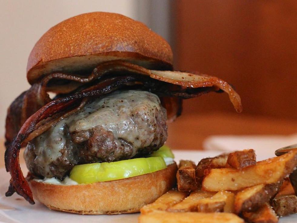 Salt & Time burger
