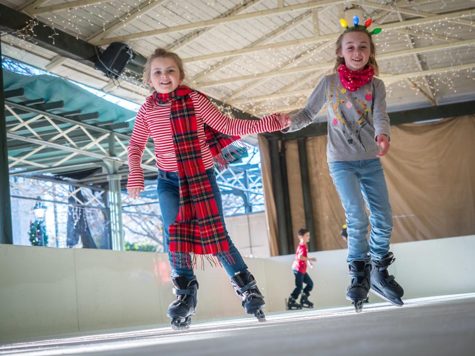 Fredericksburg holiday ice skating