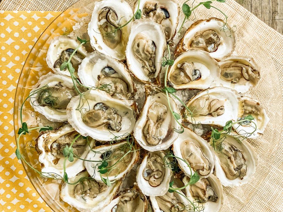 Acadian Coast oysters