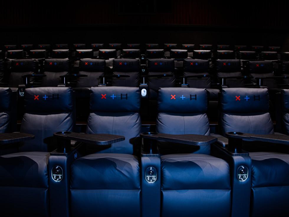 Strike + Reel movie theater