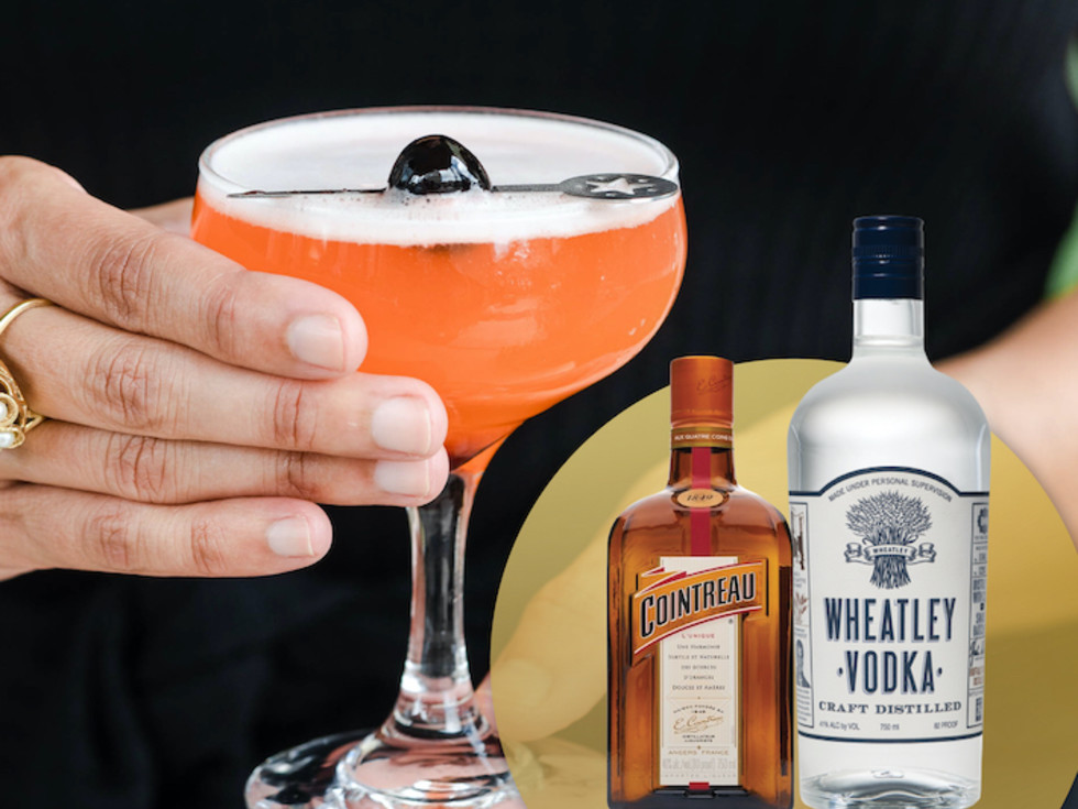 Aperol Fizz cocktail