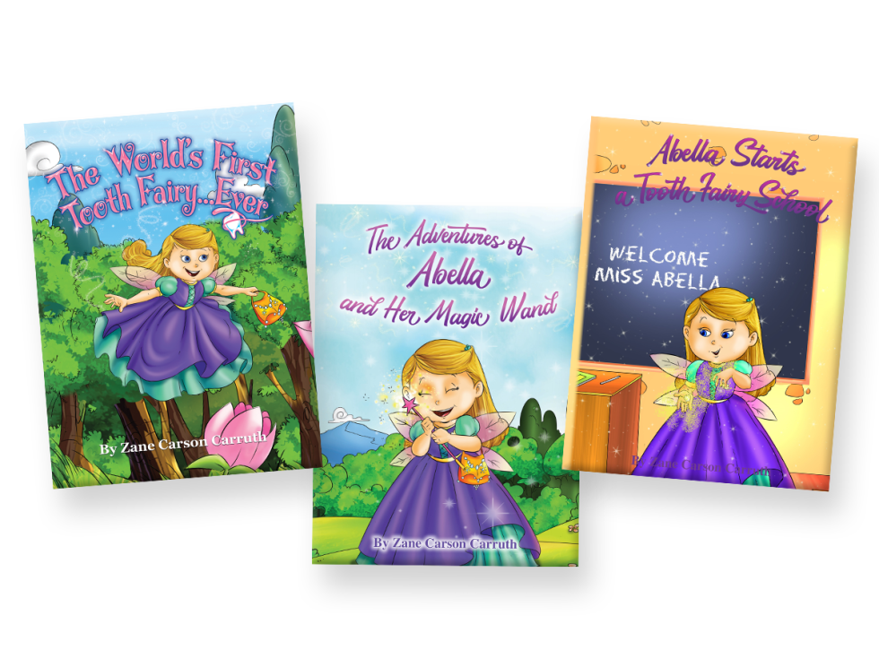 World's First Tooth Fairy by Zane Carson Carruth, books