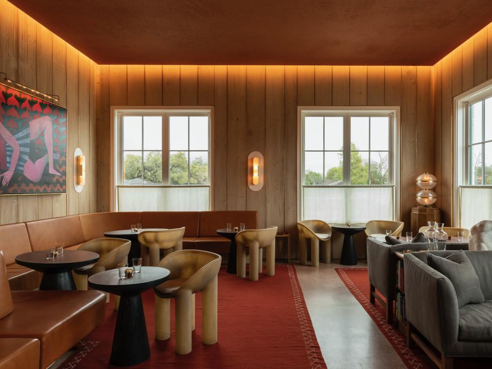 March restaurant lounge interior