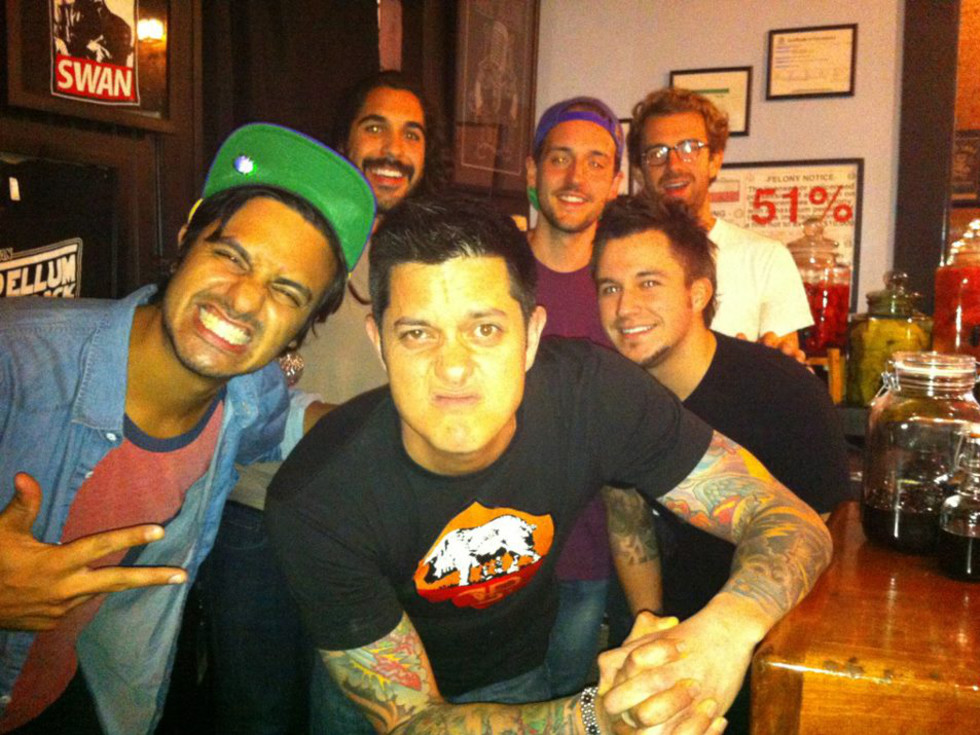 Gabe Sanchez at the Black Swan Saloon