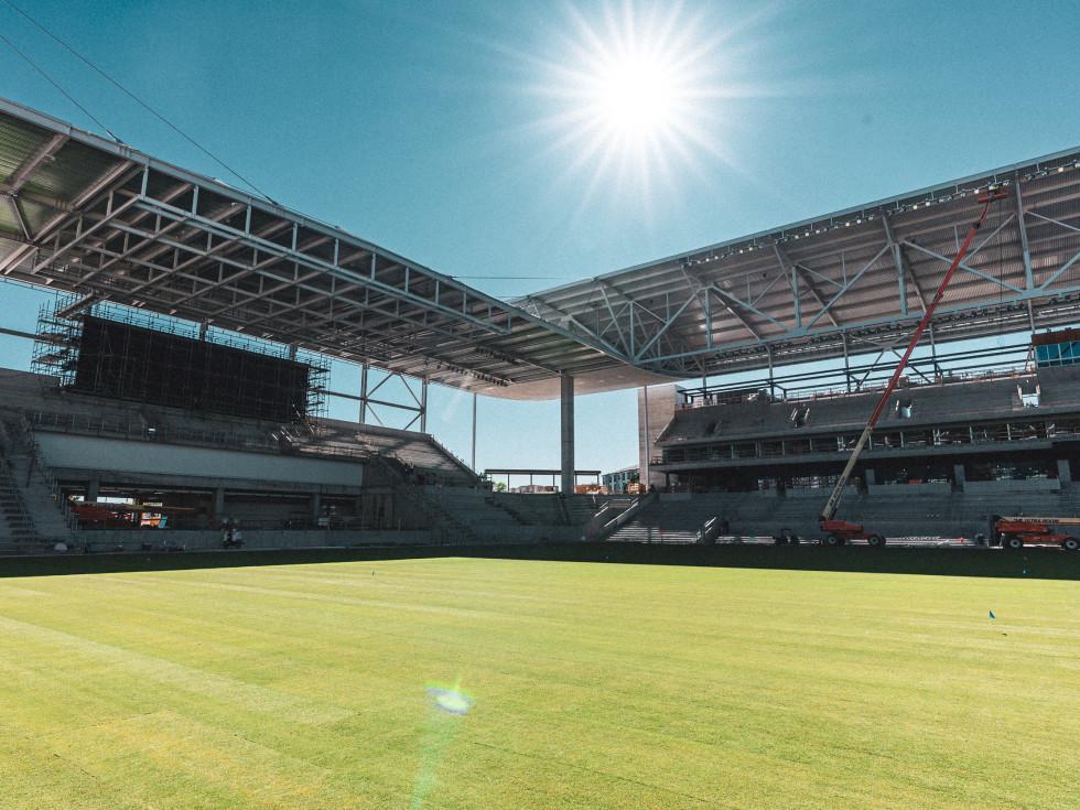 Austin FC stadium pitch