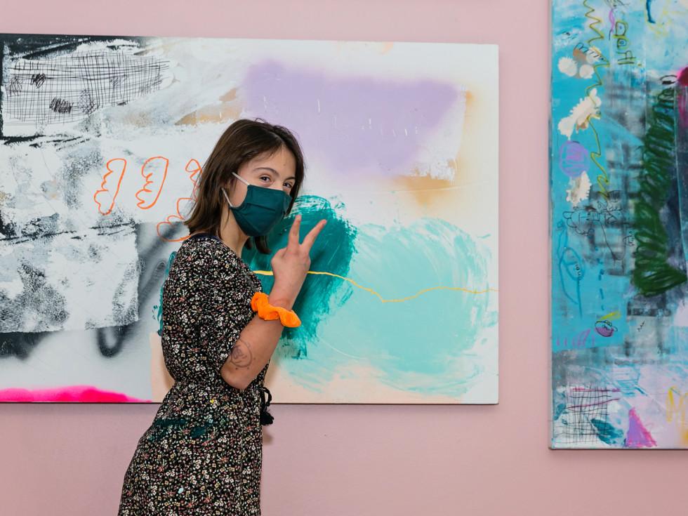 Inside Her Studio Houston Rice Village Sevy Marie Eicher
