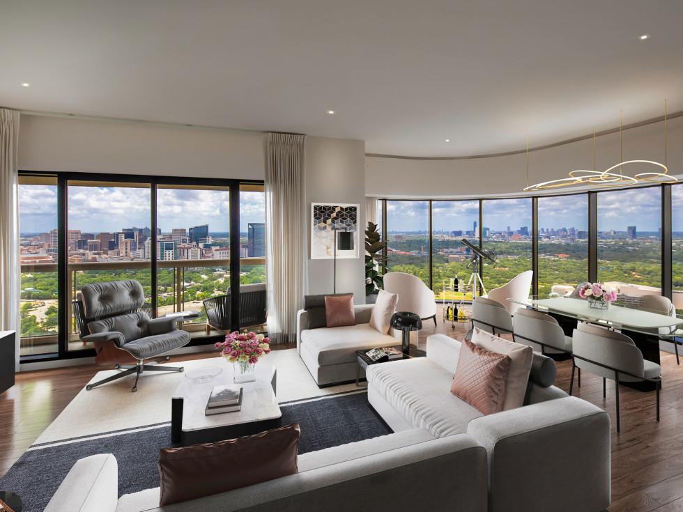The Parklane penthouse