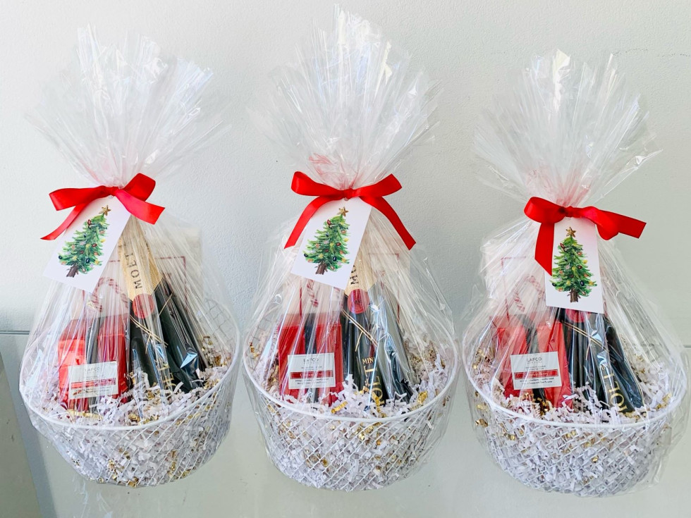 Perk holiday gift baskets