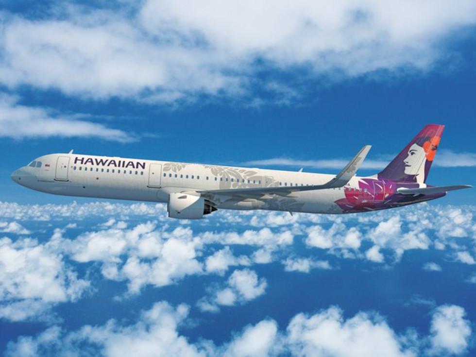 Hawaiian Airlines plane