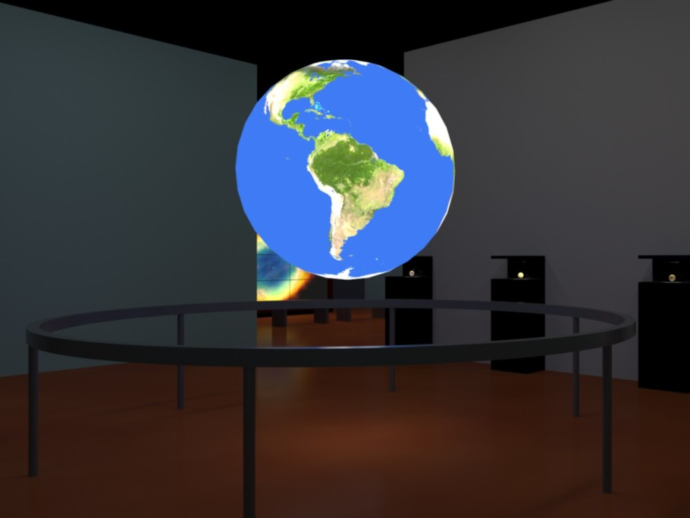Science on a Sphere - Current Science Studio