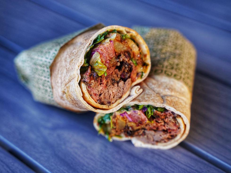 Craft Pita Truth BBQ smoked lamb shawarma